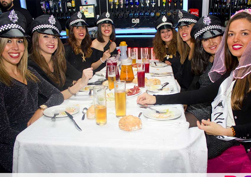Restaurantes para despedidas en Granada