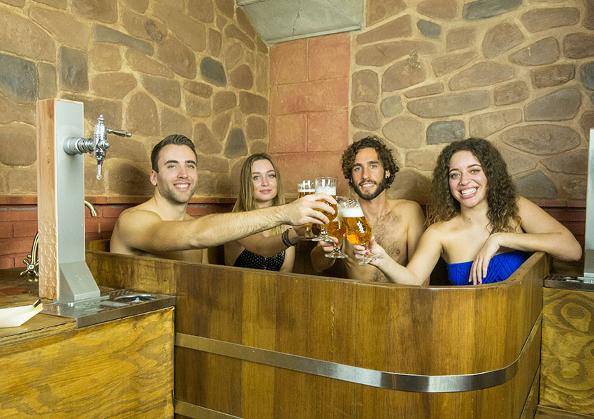 Beer Spa despedidas Granada